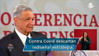 El Presidente Andrés Manuel López Obrador aseguró que la pandemia está perdiendo fuerza y no hay reporte de rebrotes, asimismo aclaró que no se tiene pensado un nuevo confinamiento