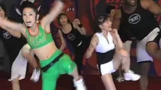 ボブサップ&吉野紗香出演のトレーニングビデオBeastBeat 吉野紗香 動画 11