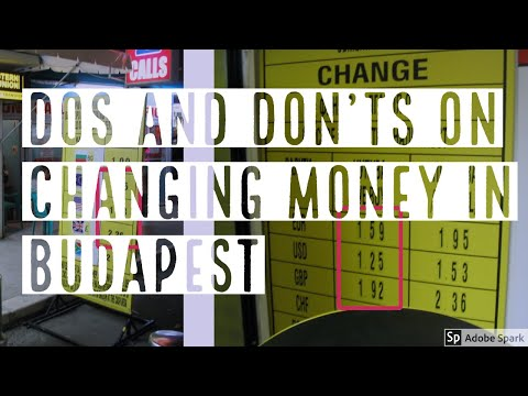 DOS AND DON'TS OF CHANGING MONEY IN BUDAPEST -- True Guide Budapest