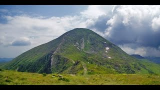 Смотреть видео Гора Говерла