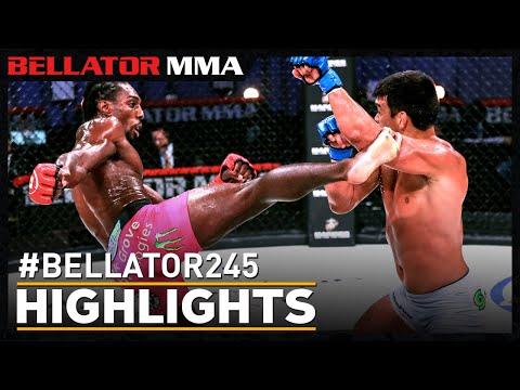 Highlights   Bellator 245: Davis vs. Machida 2   Bellator MMA