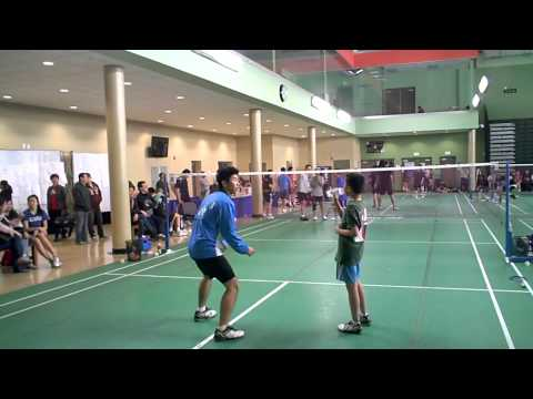 LABC CNY Tournament 2012 - E MS Final - Carl Jiang vs Alvin Koh