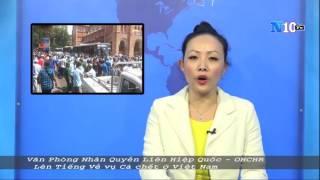 Liên Hiệp Quốc lên tiếng về vụ cá chết ở Việt Nam