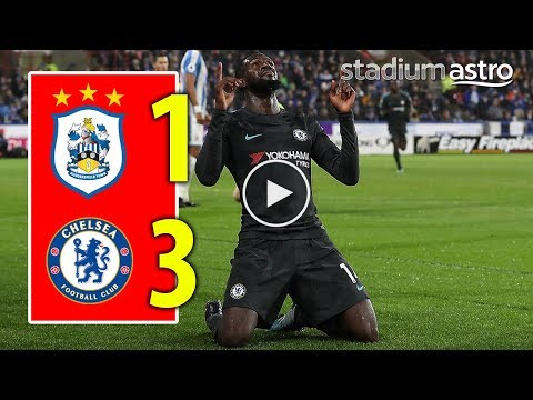 FT Huddersfield 1 - 3 Chelsea