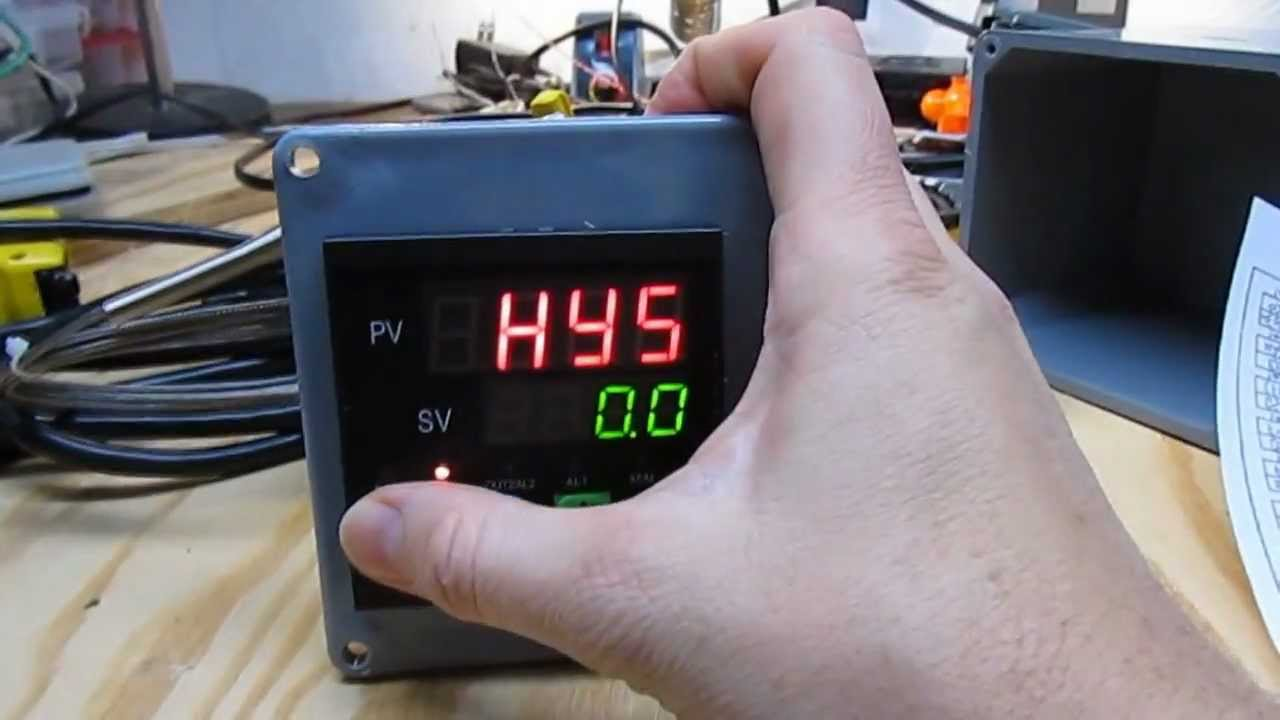 Pid Temperature Controller For Heating Cooling Of Beer Fermentation Smoker Wiring Diagram Youtube