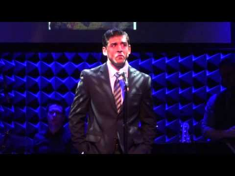Tony Yazbeck - Out There (from The Hunchback of Notre Dame, live) @ Joe's Pub, 1/28/13