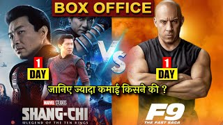 Box Office Collection, Shang-Chi And The Legend Of The Ten Rings, Fast & Furious 9, Fast9, India, Thumb