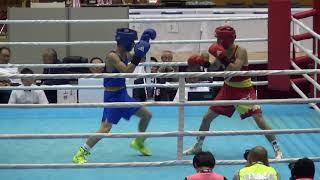 2017年 ボクシング 中垣龍汰朗vs杉本聖弥 フライ級 決勝