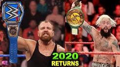 10 Big WWE Returns Rumored for 2020 - Dean Ambrose & Enzo Amore Return