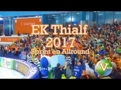 ISU European Championship 2017 Speed skating Thialf Heerenveen