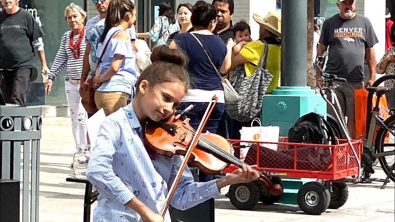 Amazing 10 Year Old Violinist Plays Senorita By Shawn Mendes Youtube