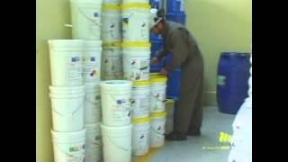 Almacenamiento y manipulación de productos químicos
