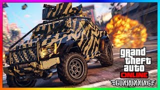 GTA 5 ONLINE NEW $3,000,000 INSURGENT PICK UP CUSTOM DLC CAR CUSTOMIZATION & UPGRADES!