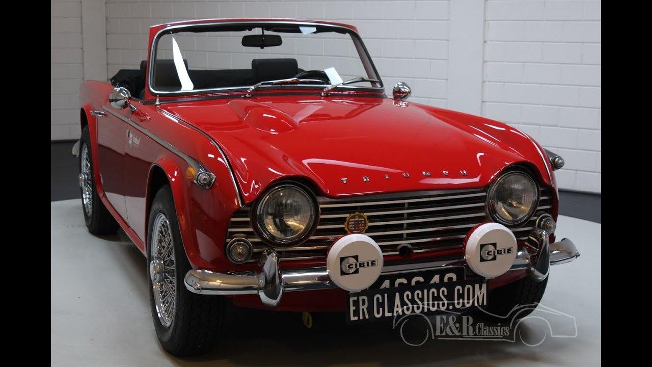 Triumph TR4A IRS 1966 -VIDEO- www ERclassics com