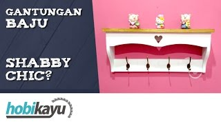 Video DIY Shabby Chic Coat Hanger download MP3, 3GP, MP4, WEBM, AVI, FLV Oktober 2018