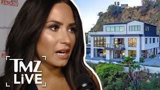 Demi Lovato's Hollywood Home Hit in Possible Burglary Attempt | TMZ Live