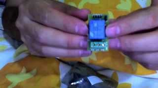 dealextreme 1 channel 5v relay module for arduino green