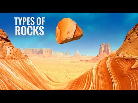 The 3 Types of Rocks