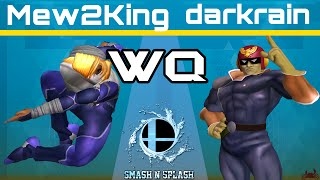 SNS - COG MVG Mew2King (Sheik) vs darkrain (C.Falcon) - Melee Winners Quarters