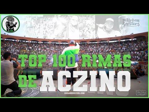 TOP 100 RIMAS DE ACZINO II ¡HASTA PRONTO, DIABLO! ?