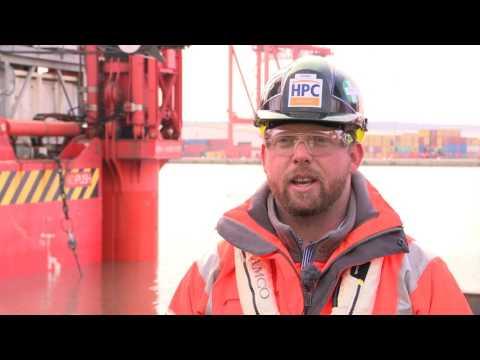EDF Energy Wavewalker Departs