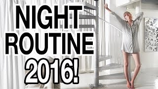 MY REAL NIGHT ROUTINE: SUMMER 2016!