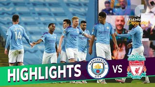 Highlights & Goals | Manchester City vs. Liverpool 4-0 | Telemundo Deportes