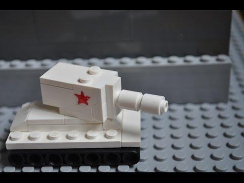 Lego Ww2 Mini Kv 2 Instructions Youtube