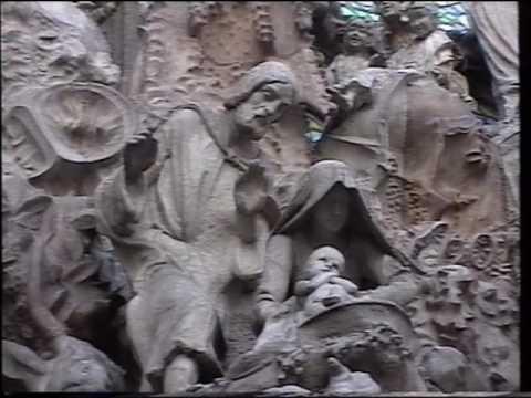 "Barcelona ""Sagrada Familia"" and Parque Güell, 12.January 1996"