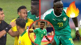 SADIO MANE ET GANA GUEYE DES MONSTRES ! NEYMAR EN COLERE ! COUTINHO REVIT | Brésil - Sénégal : 1 - 1