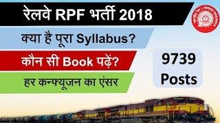 Railway RPF Exam Syllabus, Books & pattern for preparation || Constable SI Bharti सिलेबस और बुक्स