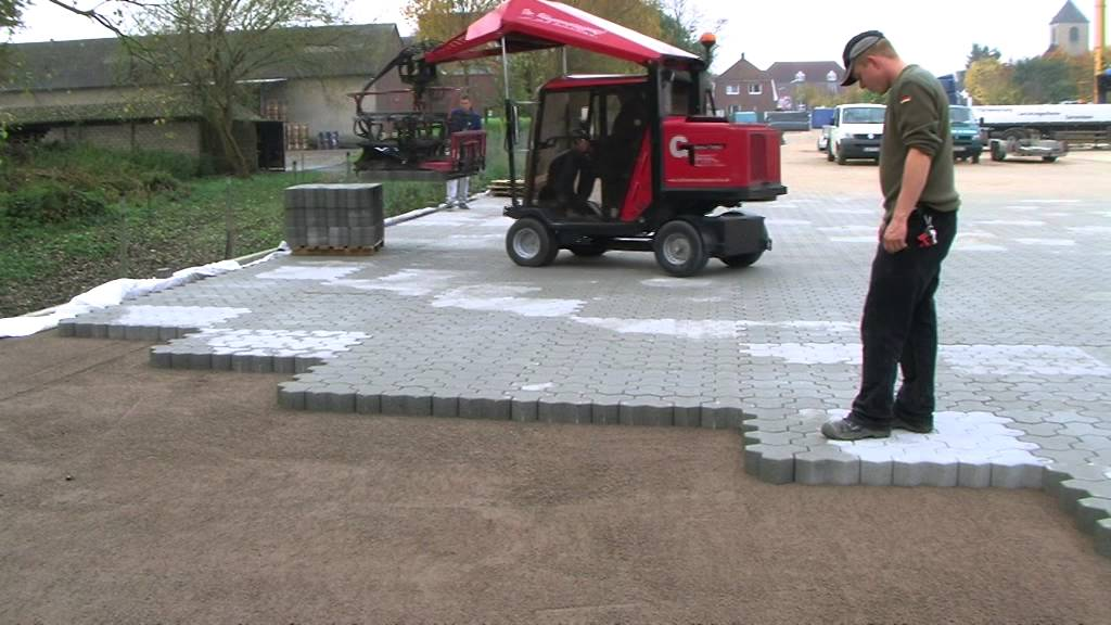 H88 paver laying machines for driveways parkways youtube solutioingenieria Choice Image