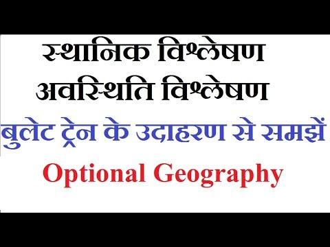 Spatial Analysis and Locational Analysis UPSC PCS Other