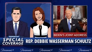 Tooning Out Special Coverage: Pres. Biden's First Joint Address to Congress