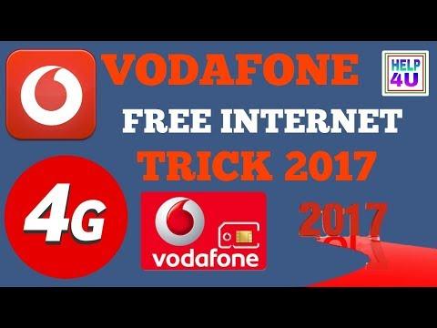 Vodafone Free Internet Trick 2017