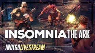INSOMNIA: The Ark Livestream | Dieselpunk Fallout-like in Space?