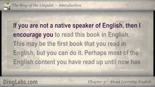 03: The Linguist by Steve Kaufmann - Introduction - About Learning English