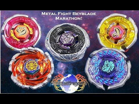 BeyBattle Diablo Nemesis VS Team Garcia (Metal Fight Beyblade Marathon) EPIC!