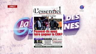LA  REVUE DES GRANDES UNES DU LUNDI 06 AOUT 2018 EQUINOXE TV