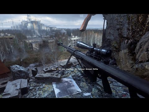 """4K EPIC CHERNOBYL SNIPING MISSION! Modern Warfare Remastered """"One Shot One Kill"""" (Ultra Graphics)"""