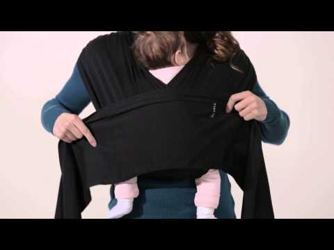 JJ Cole Agility Baby Carrier - How To Use, All Positions