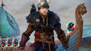 I AM A VIKING MAN!!! - Assassins's Creed Valhalla Gameplay