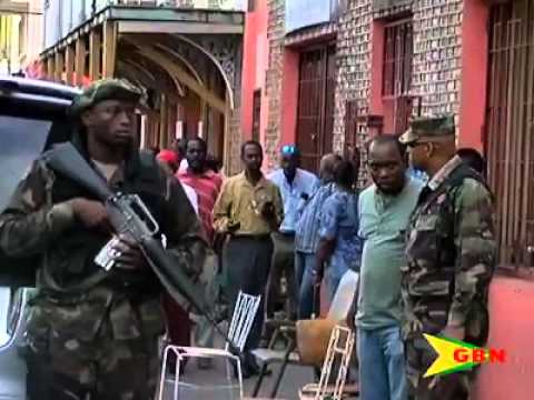 SHOOT OUT IN THE CAPITAL OF GRENADA