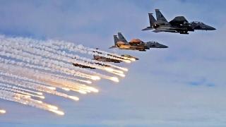 أخبار عربية - طيران #العراق والتحالف الدولي يقصفان مواقع لداعش بالأنبار ونينوي