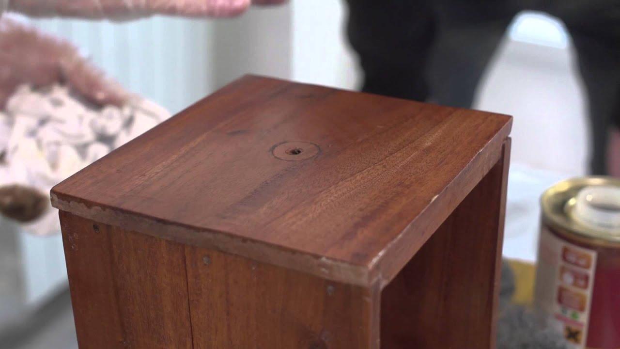 Rnover un meuble ancien en bois  YouTube
