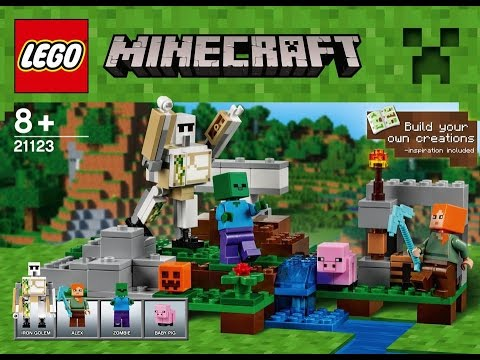 Lego minecraft 21123 BUILD YOUR OWN CREATIONS - YouTube