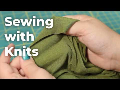 Beginner's Guide To Sewing Knits (Episode 10)