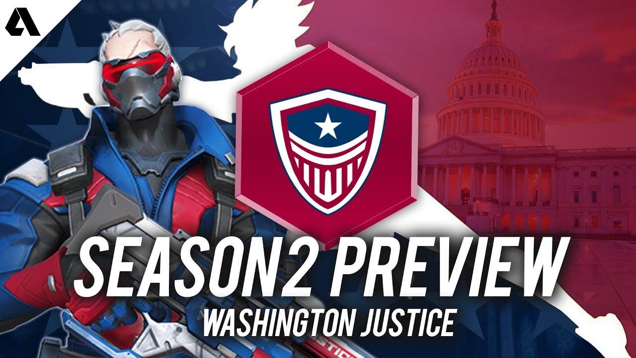 Washington Justice - Overwatch League Season 2 Team Preview