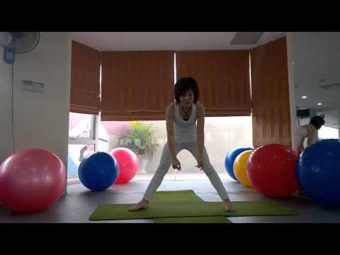 YOGA Bài tập yoga giúp cho ngực nở căng tròn