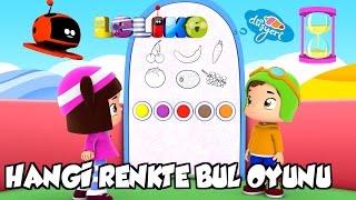 Leliko Bölüm 38 - Hangi Renkte Bul Oyunu - Çizgi Film | Düşyeri